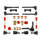1969 1970 Pontiac Grand Prix Red Polyurethane Complete Front End Suspension Master Rebuild Kit
