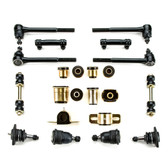 1971 1972 Pontiac Grand Prix Black Polyurethane Front End Suspension Rebuild Kit