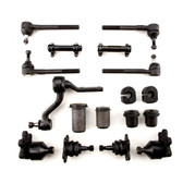 1989-1992 GMC 4WD K1500 Pickup & Suburban Yukon K2500 Pickup w/ 7200 GVWR New Front End Suspension Master Rebuild Kit