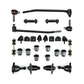 1957 1958 Ford Full Size New Front End Suspension Rebuild Kit with Inner Tie Rods