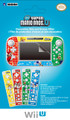 Wii U Decorative Skin and Screen Filter (New Super Mario Bros. U)