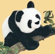 Mai-Ling Floppy Panda Bear
