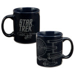 """Star Trek<sup>TM</sup> """"Enterprise"""" 12 oz. Ceramic Mug"""