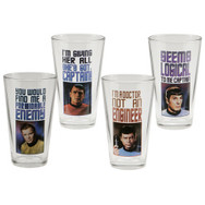 Star Trek® 4 pc. 16 oz. Glass Set