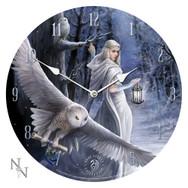Midnight Messenger Wall Clock