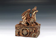 Copper Steampunk Dragon Box