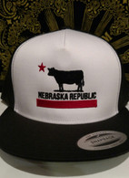 Nebraska Republic Hat (black)