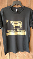 Nebraska Republic (Black N Gold)