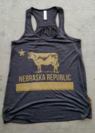 Nebraska Republic Women's Tank (Gold)