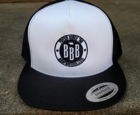 Yupoong flatbill snapback hat