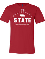 Volleyball State (Red/White)
