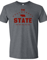 Volleyball State (Gray/Red)