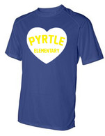 Pyrtle Heart youth dri-fit