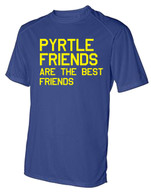 Pyrtle Friends adult dri-fit