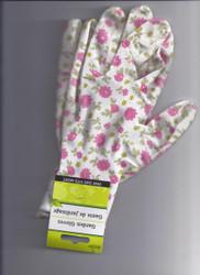 Garden Gloves- Pink Floral