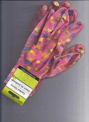 Garden Gloves- Fuschia Floral
