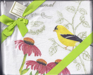 Dish Towel-Yellow Bird Set2