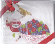 Dish Towel- Berries Set-2