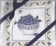 Dish Towels-Blueberries Set2