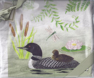 Dish Towel- Loon Set2