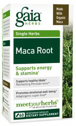 Supports energy & stamina*   Maca Root- 60 caps