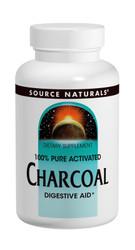 Charcoal- 260 mg- 100 caps