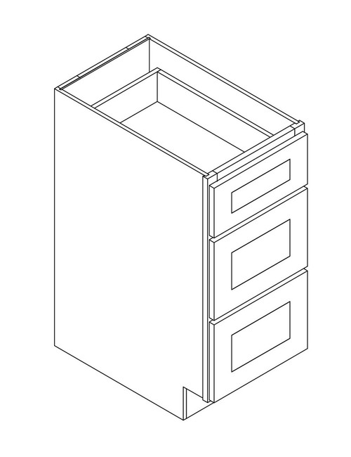 "12"" Drawer Base Cabinet (12""W×34.5""H×24""D)"