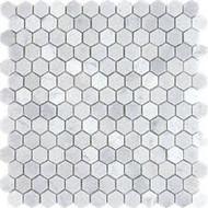 NSM-M001 White Carrara Mosaic