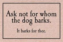Ask Not... Door Mat