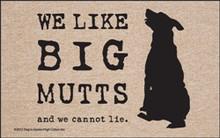 Big Mutts... Door Mat