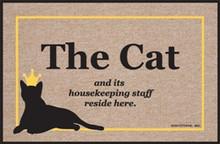 Cat & Housekeeping Staff... Door Mat