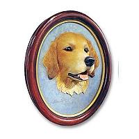 Golden Retriever Sculptured Portrait