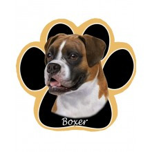 Boxer, Uncropped Mouse Pad