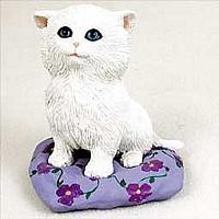 My Kitty on Pillow Figurine