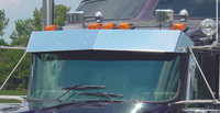 """Kenworth 10"""" Drop Standard Mount Curved Winshield 2006 and Earlier"""