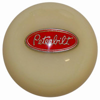 Shift Knob Peterbilt Ivory Threaded