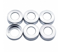 Kenworth Chrome Switch Nut Cover 6 Pack