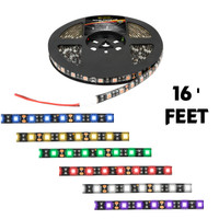 LED Strip Lights Interior 16 Feet  300 Diodes