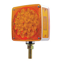 Square Double Face Pedistal Light Single Stud