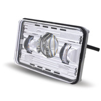 "LED Headlight Sealed Beam 4""X6"" High Beam Projector"
