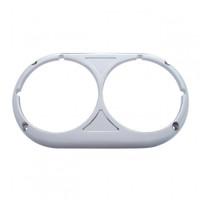 Chrome Peterbilt 359 Headlight Bezel - Original Style