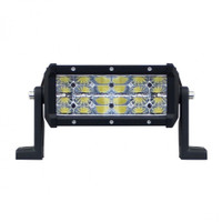 High Power 4 Row LED Light Bar - Reflector Series - 7 1/4""