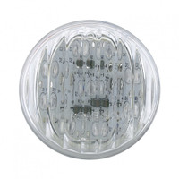 "9 LED 2"" Amber Clear Marker Light"