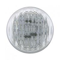 "9 LED 2"" Amber Clear Marker Light"