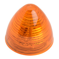 "LED 2"" Beehive Amber Marker Light"