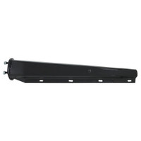 "Mudflap Hanger  Black Spring Loaded 2.5"" Bolt Spacing"