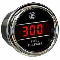 Fuel Pressure 0-300 Gauge