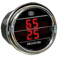Dual Display PSI, Tractor/Turbo Gauge