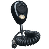 RoadKing - 4-Pin Dynamic Noise Canceling CB Microphone, Black