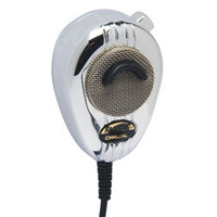 RoadKing - 4-Pin Dynamic Noise Canceling CB Microphone, Chrome